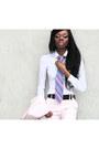 Light-pink-zara-blazer-white-h-m-shirt-blue-clutch-zara-bag-light-pink-zar