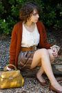Vintage-cardigan-vintage-skirt-vintage-belt-vintage-top-vintage-shoes