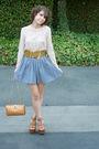 Vintage-top-vintage-belt-american-apparel-skirt-cognac-shoes-vintage-pur