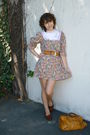 Vintage-dress-vintage-belt-vintage-shoes-vintage-accessories-balenciaga-