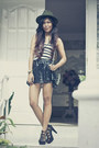 Forever-21-hat-figliarina-bag-zepubliq-skirt-so-fab-heels