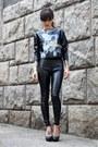 Black-zara-shirt-black-c-a-pants-andarella-heels