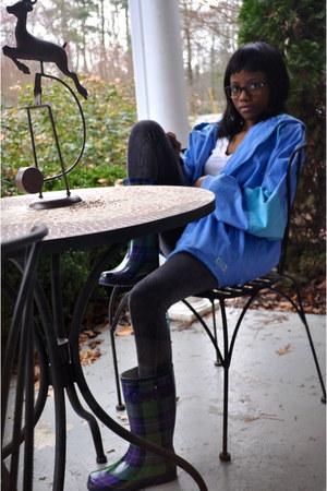 carrini boots - jacket - HUE leggings