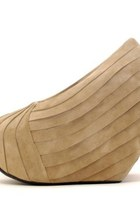nude Mini Market wedges