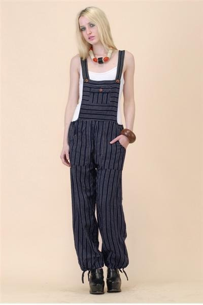blue overall jumper