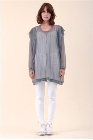 heather gray mesh hoodie hoodie