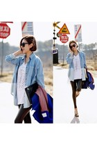 sky blue Ssongbyssong blouse