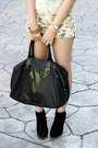 Forever21-shorts-easy-ysl-bag