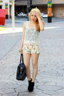 Easy-ysl-bag-forever21-shorts