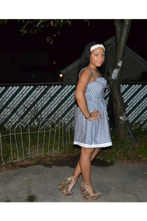 Macys dress - Jeffrey Campbell wedges