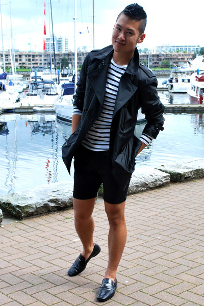 Black-burberry-coat-black-cheap-monday-shorts-black-