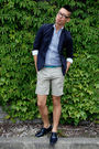 Blue-diesel-blazer-beige-h-m-shorts-white-h-m-shirt-blue-zara-shoes-blue