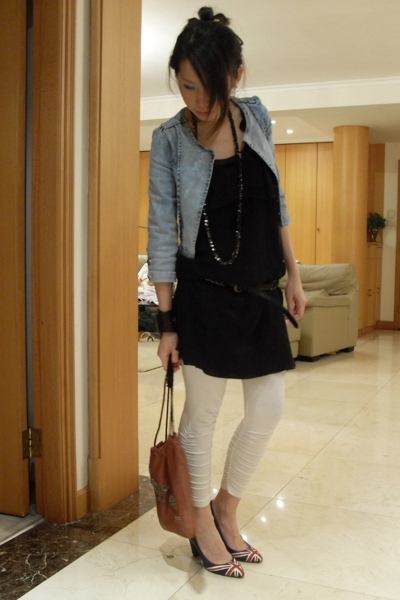 jacket - top - leggings - shoes