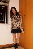 Sunao Kuwahara blouse - intimate - boots