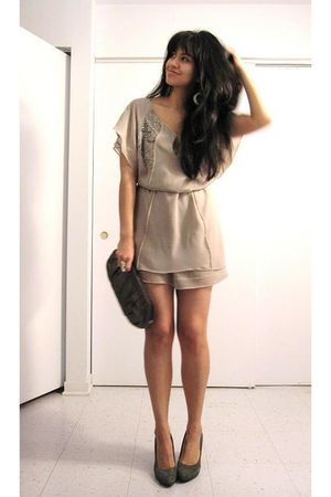 silver Zara dress