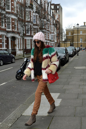 Scotch&Soda coat - H&M hat - Chanel bag