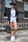 Zara-jacket-hermes-bag-primark-shorts-adidas-sneakers