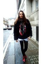 vintage boots - Primark jacket