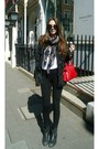 Ash-shoes-bershka-jacket-zara-leggings-balenciaga-bag