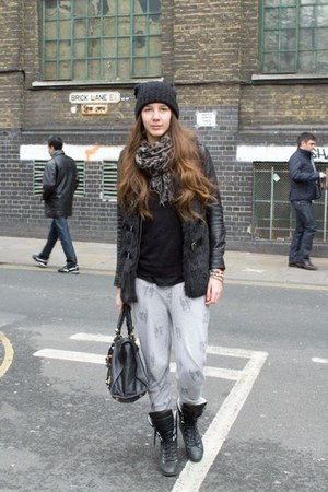 balenciaga bag - Topshop pants - Chanel sneakers