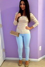 Light-blue-light-blue-guess-jeans-tan-call-it-spring-bag
