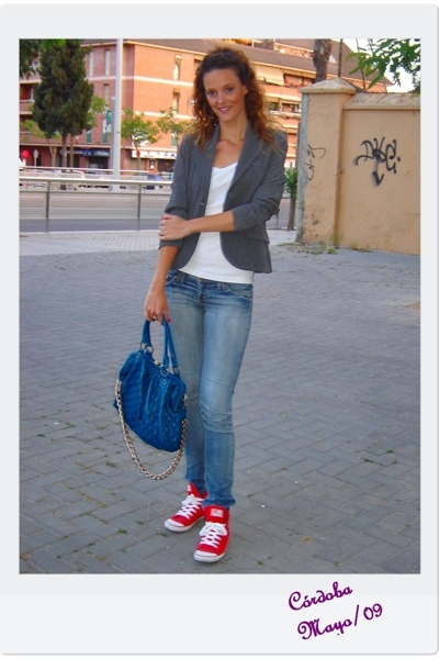 BLANCO blazer - Zara shoes - BLANCO accessories