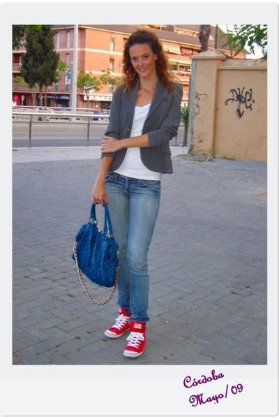 BLANCO blazer - Zara shoes - BLANCO accessories
