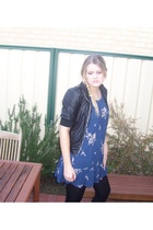Sportsgirl dress - unknown jacket - Sachi shoes - unknown tights