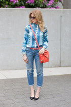 botkier bag - Current Elliott jeans - Zara blouse