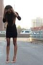 Zara-dress-zara-heels