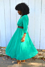 Aquamarine-romwe-dress