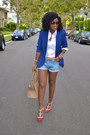Red-valentino-shoes-blue-zara-blazer-white-ralph-lauren-shirt