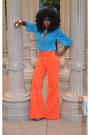 70s-style-american-apparel-jeans-chiffon-american-apparel-blouse