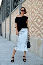 The Metallic Skirt