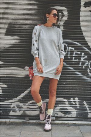 silver sweaterdress pull&bear sweater
