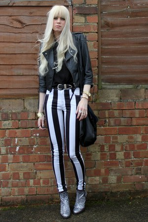 Topshop boots - asos jacket - Motel pants