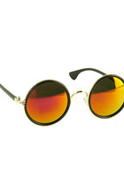 Golden Mirror Sunglasses