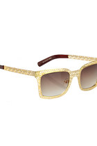 Golden Web Sunglasses
