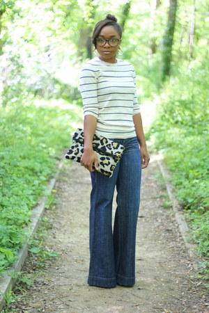 Gap sweater - Level 99 jeans - Love Cortnie bag - Forever 21 glasses
