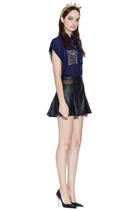 black Three Floor shorts - navy Three Floor blouse
