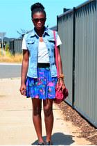 Valleygirl bag - cotton on skirt