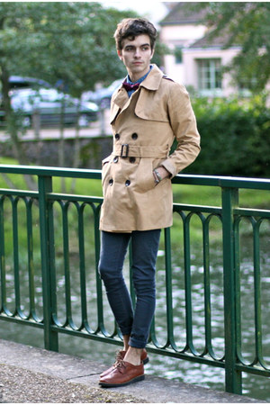 asos coat - Premium by Jack and Jones shoes - asos jeans