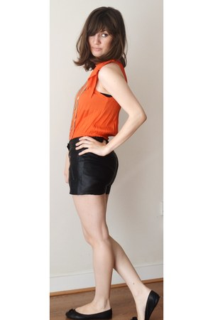 H&M dress - leather shorts Vero Moda shorts