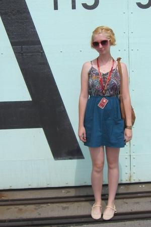 ModClothcom dress - Helena de Natalio purse - ModClothcom sunglasses - Dollhouse