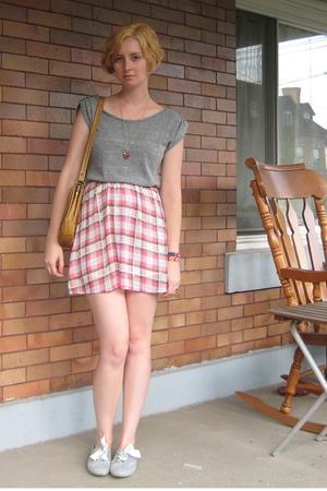 dress - purse - leggings - shoes