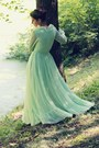 Lime-green-vintage-dress-vintage-dress