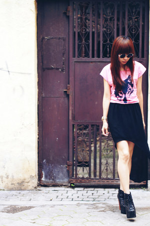 Zara skirt - VANCL t-shirt