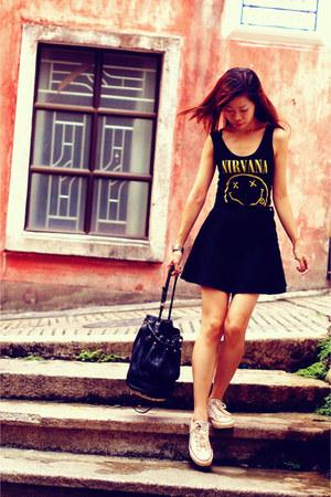 Alexander Wang bag - American Apparel skirt - Forever 21 top