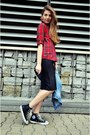 Zara-shirt-black-new-look-skirt-black-converse-sneakers