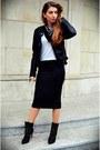 Black-zara-boots-black-sheinside-jacket-black-no-name-scarf